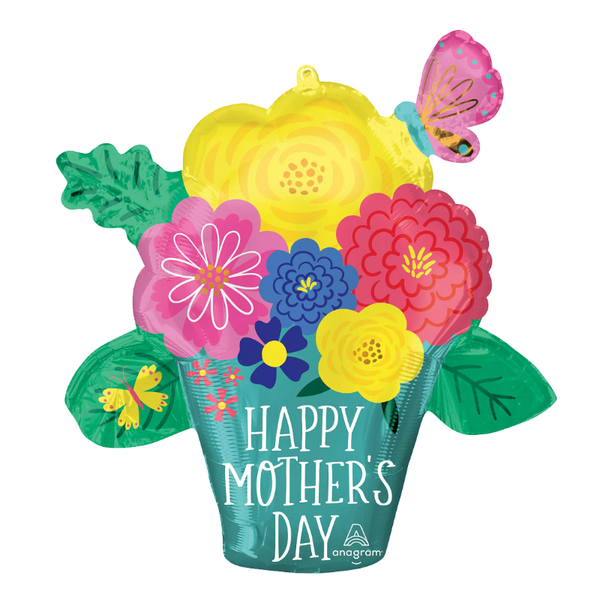 Pretty Flower Pot for Mother's Day
