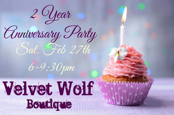 Velvet Wolf Boutique Anniversary Party - Littleton, CO