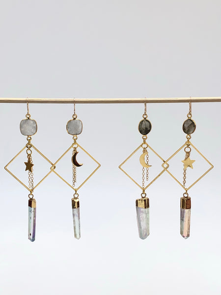 Crystal Skies Earrings