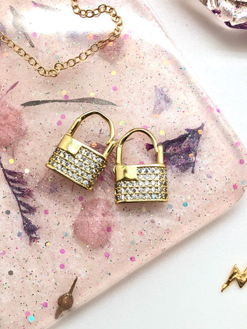 Locked on Summer Earrings