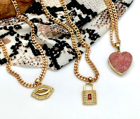 About Love Charm Necklace