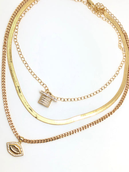 Snake Chain Layering Necklace - 5mm