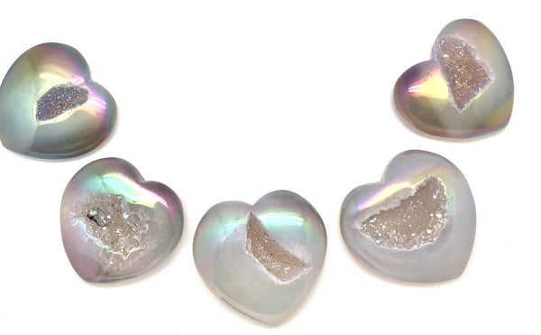 Angel Aura Heart Crystal