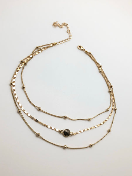 Baby Constellation Trio Choker