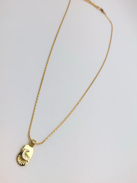 Lunar Rays Necklace