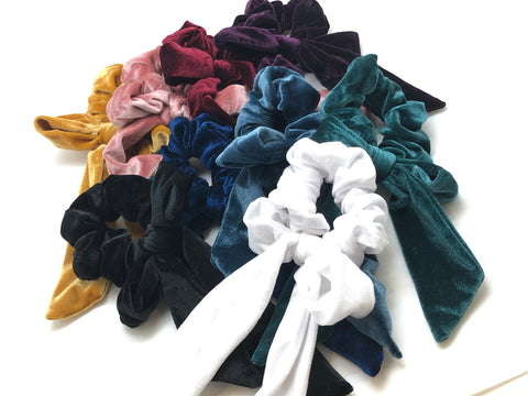 Large Bow Scrunchie