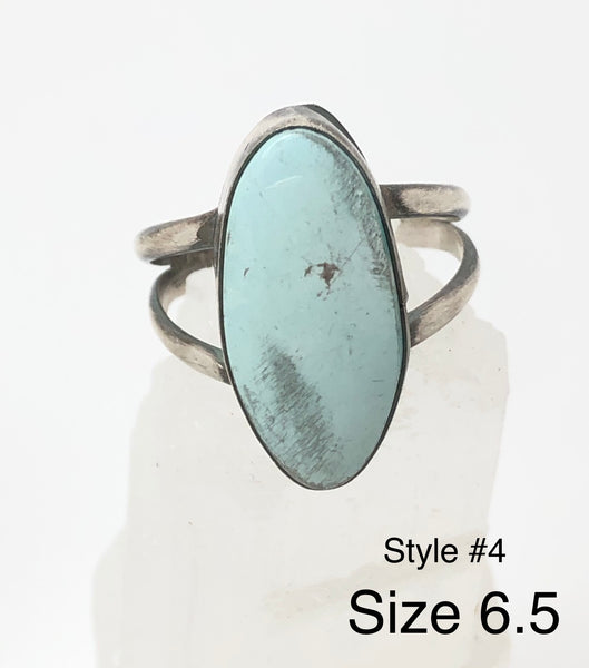 Turquoise Stone Rings