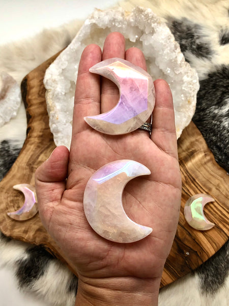 Angel Aura Crystal Moon