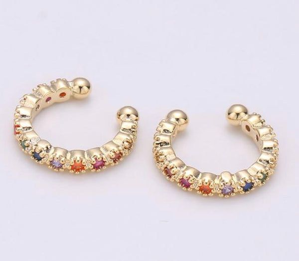 Crystal Ear Cuffs