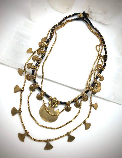 Tribal Charm Necklace