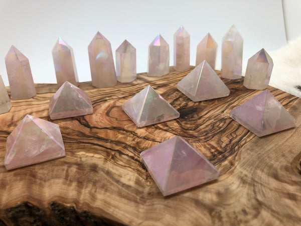 Angel Aura Pyramid Crystal