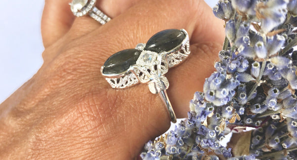 New Beginnings Butterfly Ring
