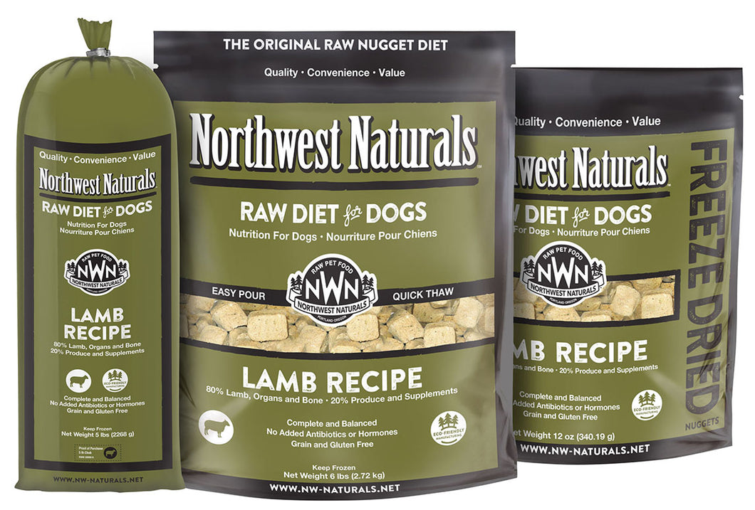Northwest Naturals - Lamb Recipe