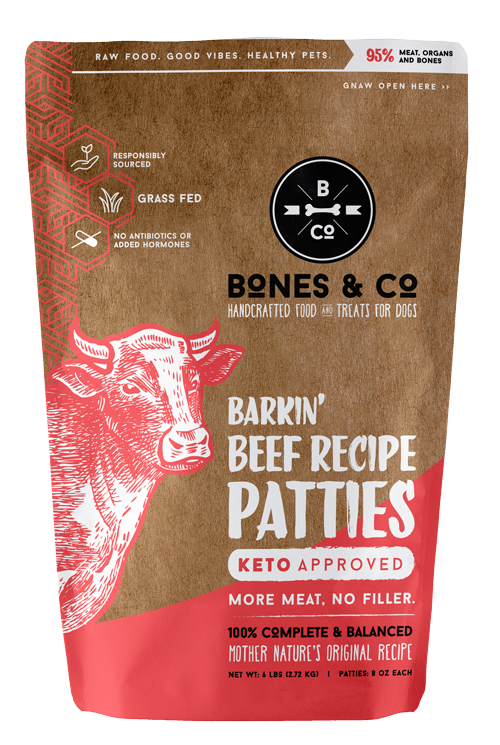 Barkin' Beef recipe patties