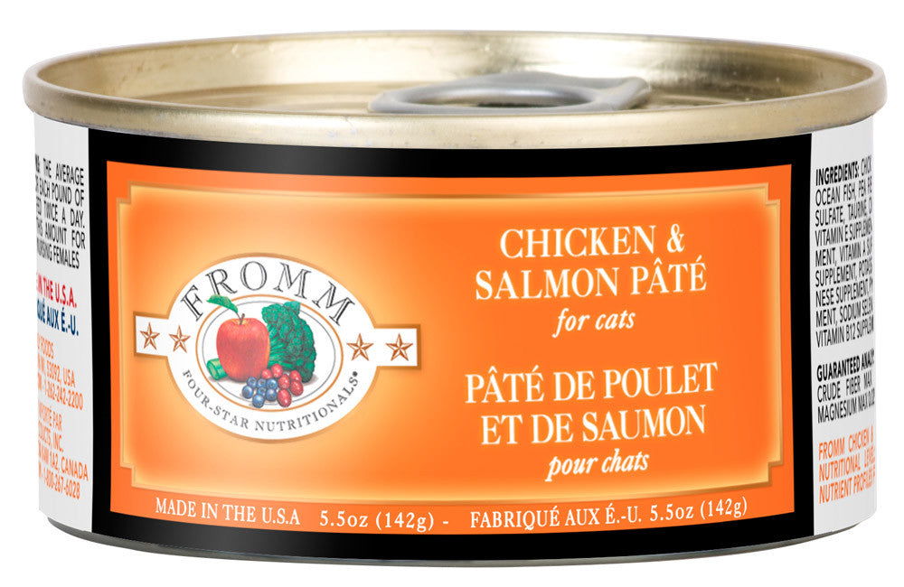 4Star Cat Grain Free - Chicken & Salmon Pate