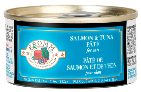 4Star Cat Grain Free - Salmon & Tuna Pate