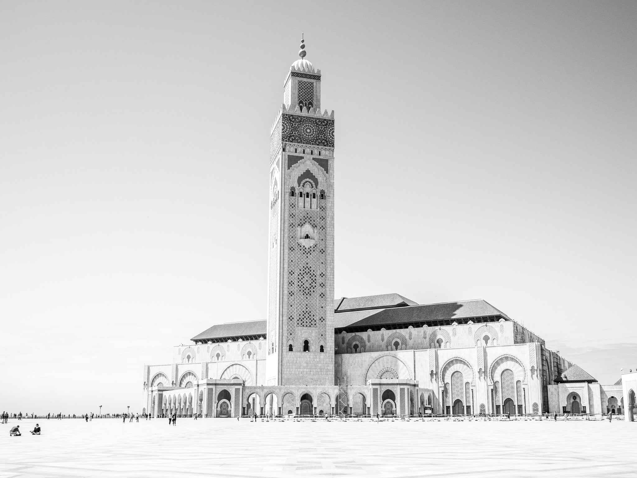 Using a Camera Strap While Visiting Casablanca