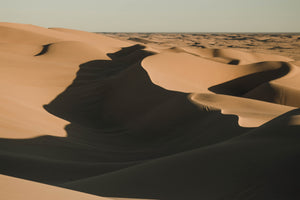 Using a Camera Strap While Exploring 3 of America's Greatest Sand Dunes