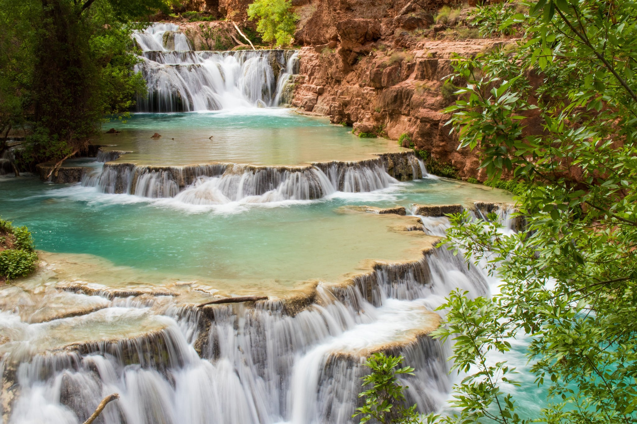 Using a Camera Strap While Hiking Havasupai