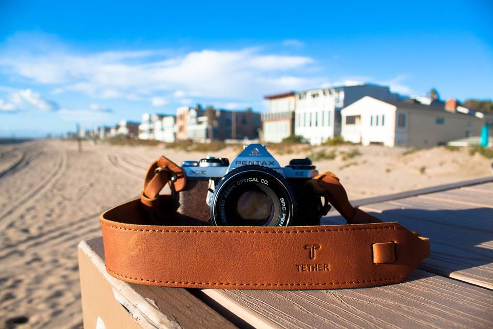 photographer, leather camera strap, design camera strap, film camera