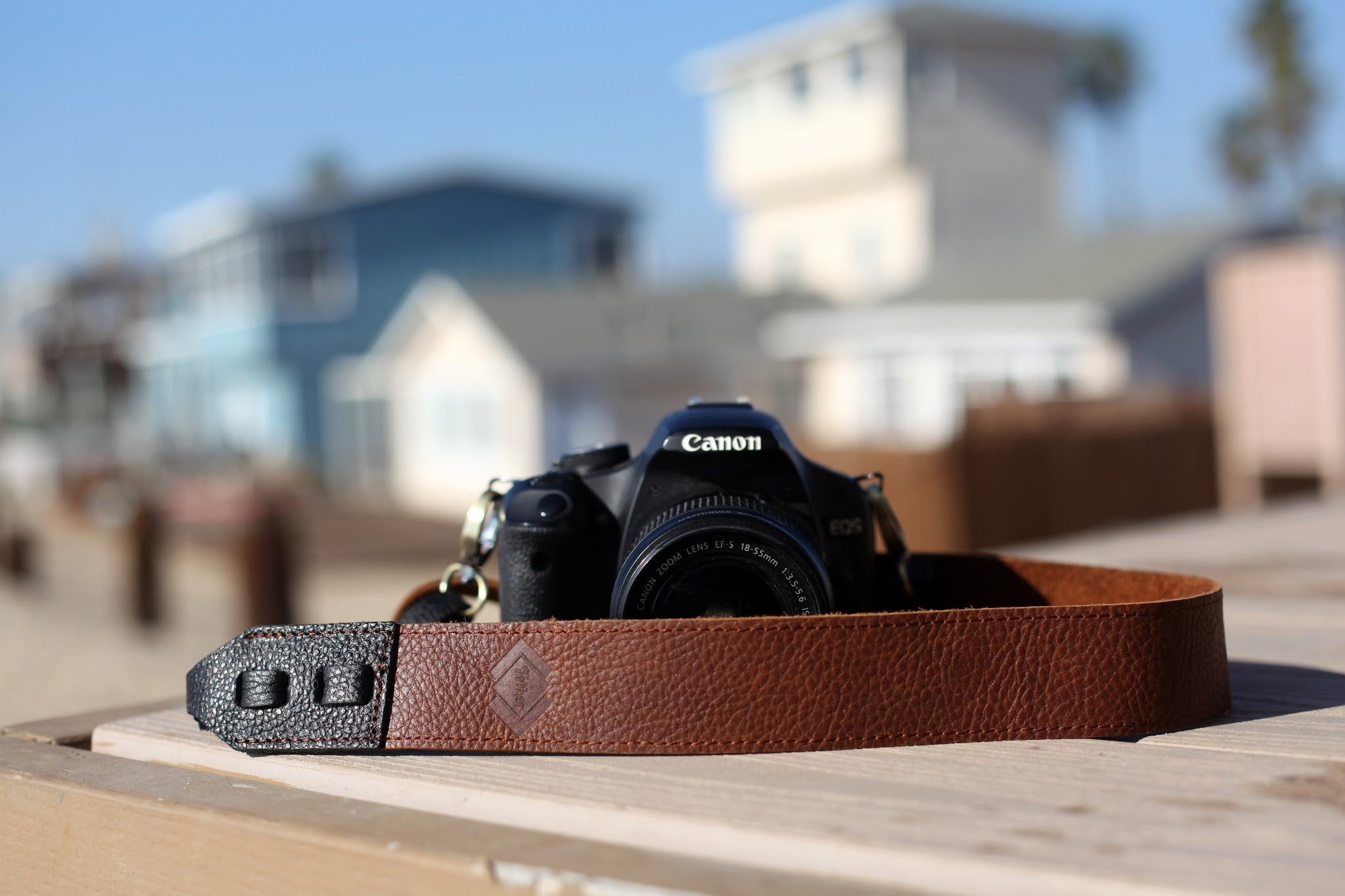 Why using a leather camera strap is ideal.