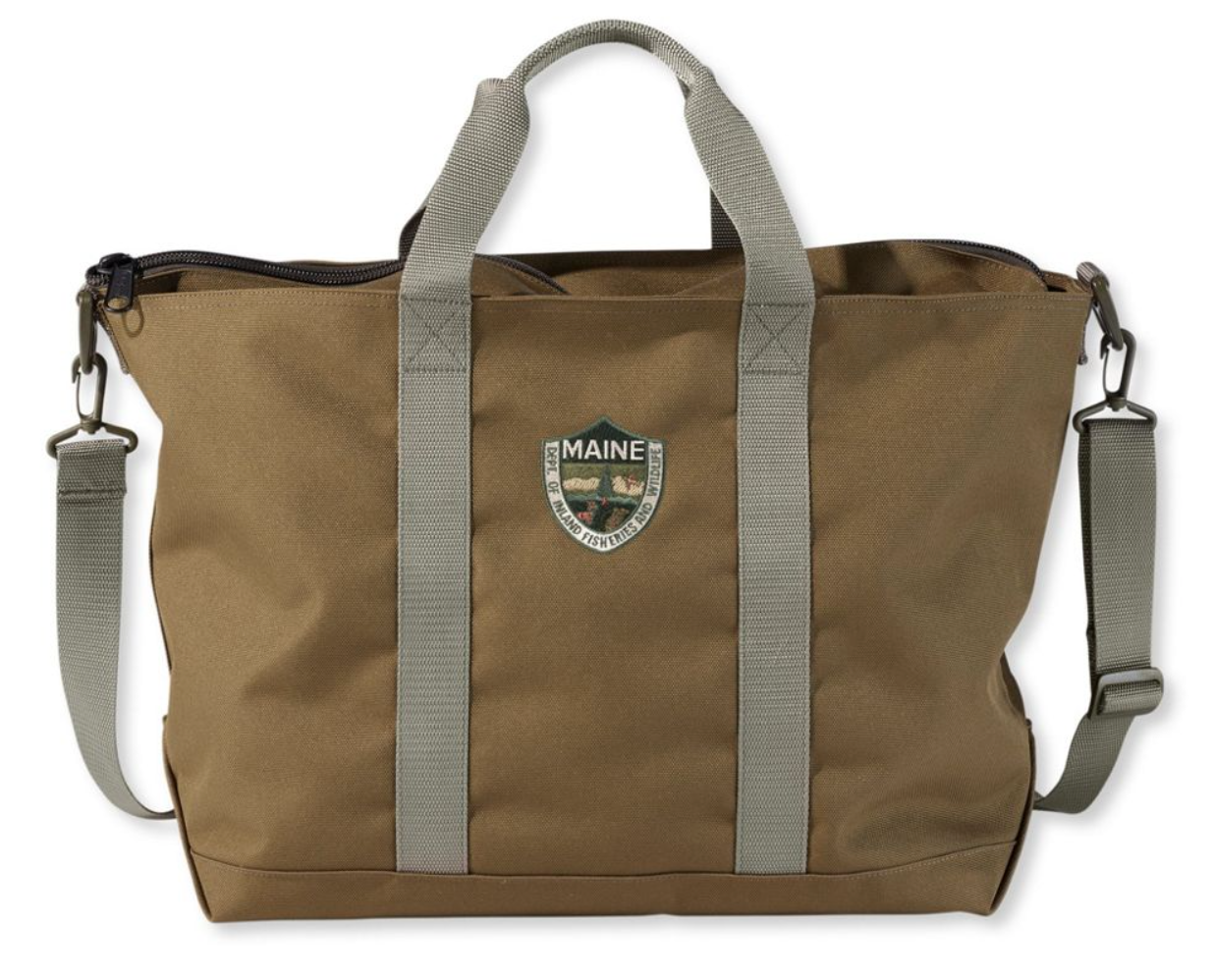 Maine Warden's Tote Bag by L.L.Bean, gift guide