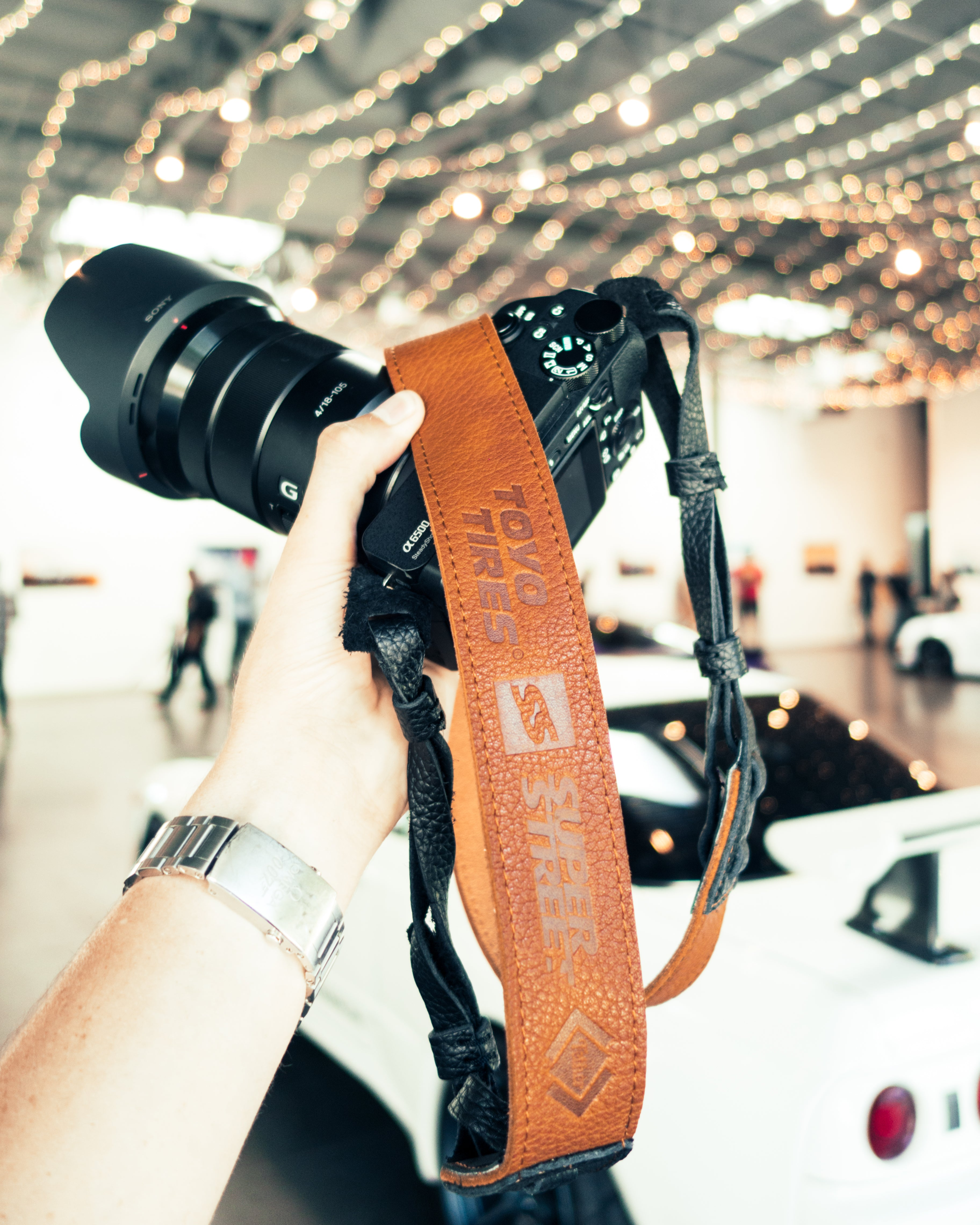 The Cross-body Superstreet / Toyo Tires Collab Camera Strap