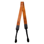 The Cross-Body Leather Camera Strap - Tan