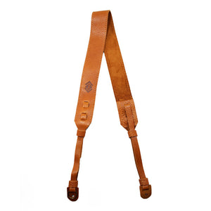 The Classic Leather Camera Strap - Tan