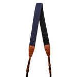The Navy Blue Denim Camera Strap