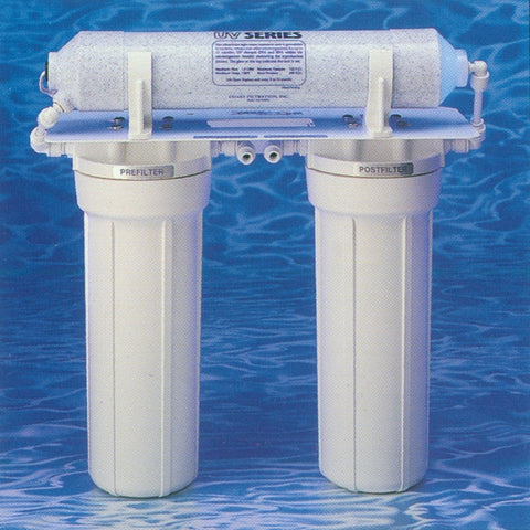 Components for Two Stage Drinking Water System with UV
