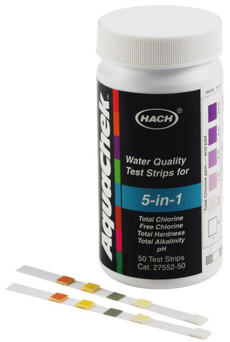 5-in-1 Water Quality Test Strips (FAL-WT-TS-5N1-50)