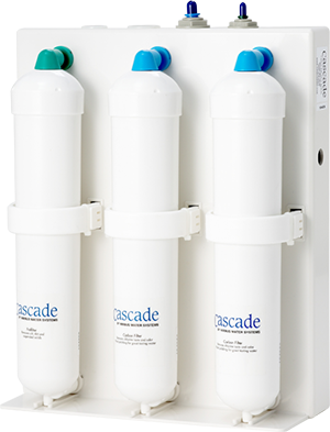 Cascade Three Stage Carbon Drinking Water System (FAL-NS-14-00)