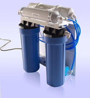 Components for Four Stage Reverse Osmosis System with UV