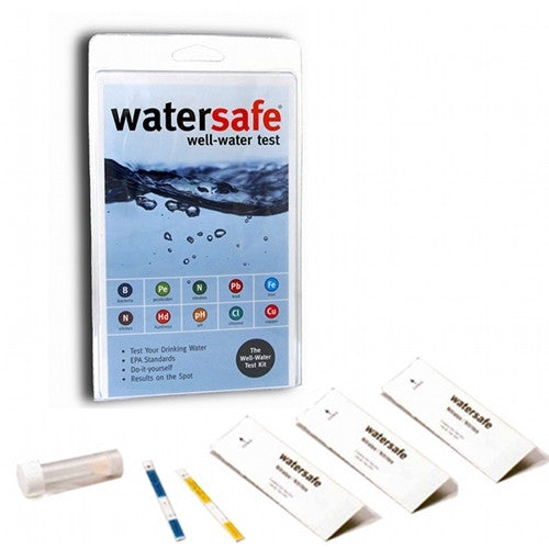 WaterSafe Well Water Test Kit (FAL-WS-WT-WELL)