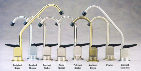 Long Reach Faucets, with Air Gap