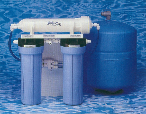 Components for Three Stage Reverse Osmosis System