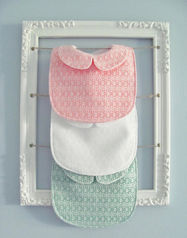 Collared lace baby bundle - set of 3