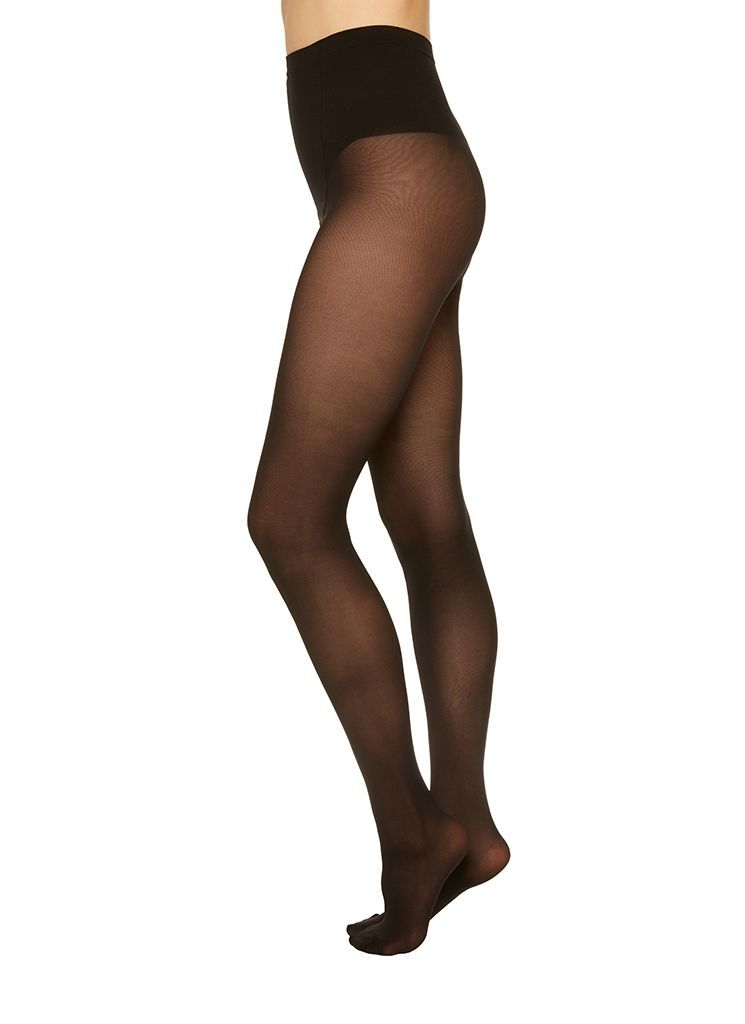 SVEA PREMIUM TIGHTS BLACK Basic Tights Swedish Stockings