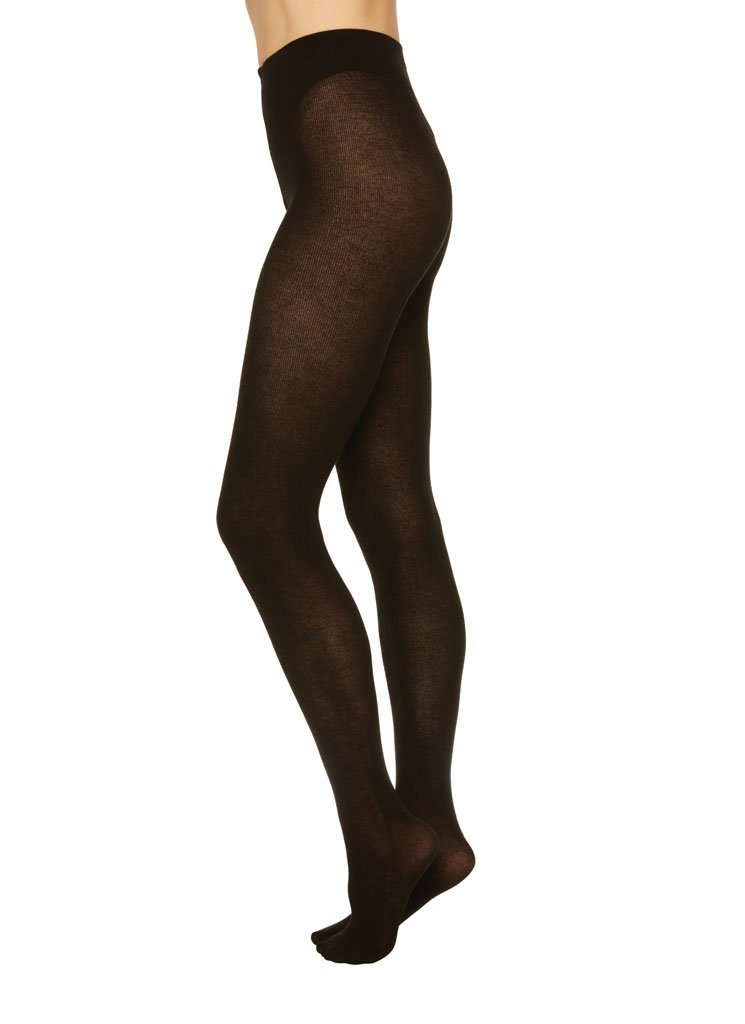 ALICE CASHMERE TIGHTS BLACK Basic Tights Swedish Stockings