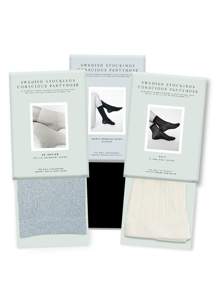 Bestsellers Socks Set! Ingrid, Klara & Stella Socks! Socks Swedish Stockings