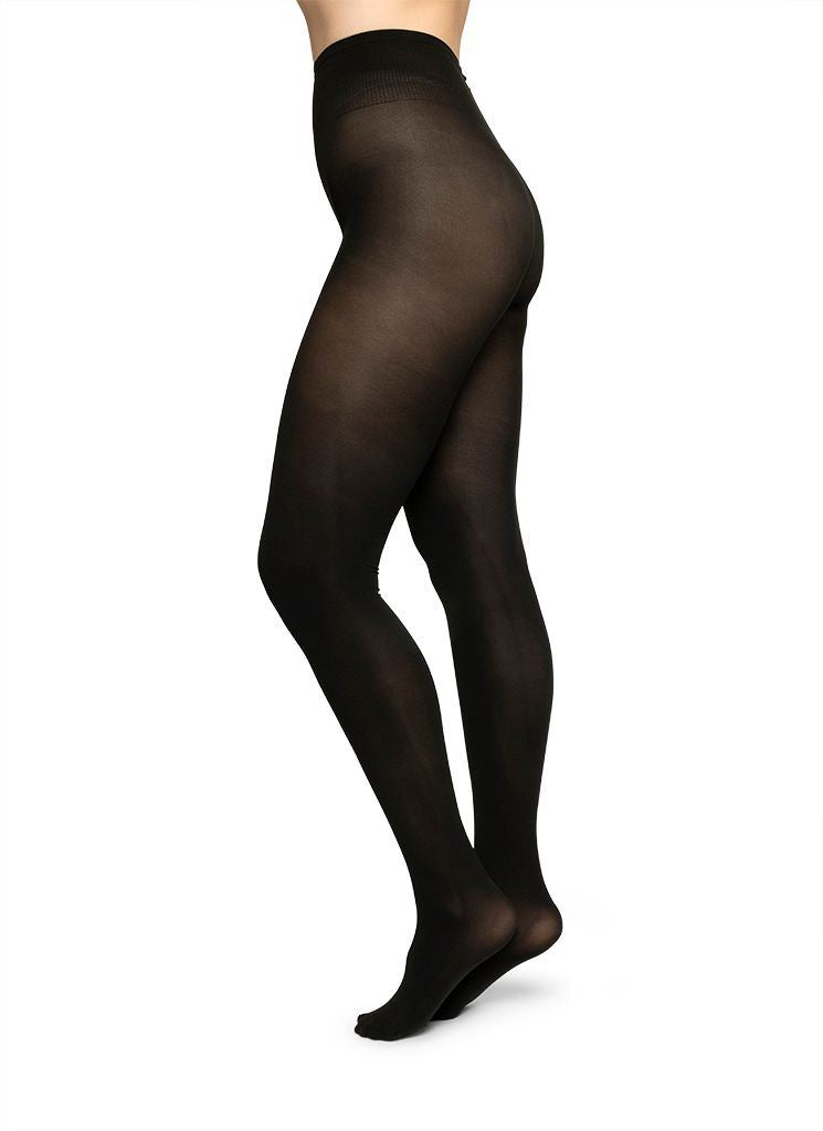 CECILIA INNOVATION TIGHTS BLACK Tights Swedish Stockings