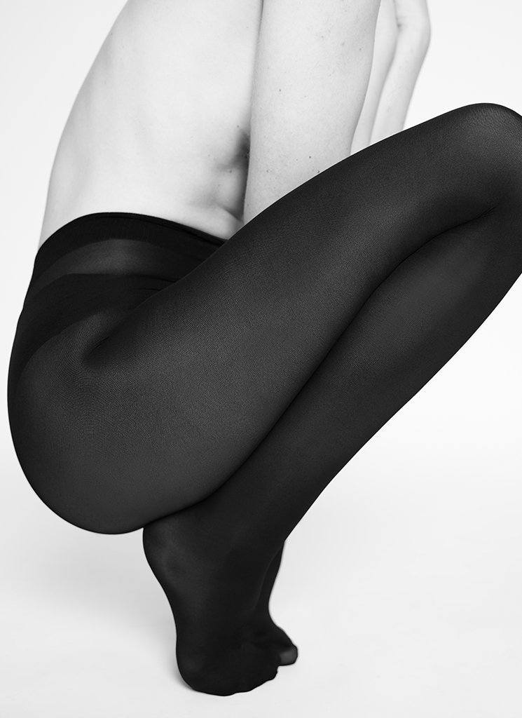 LOVISA INNOVATION TIGHTS BLACK Tights Swedish Stockings
