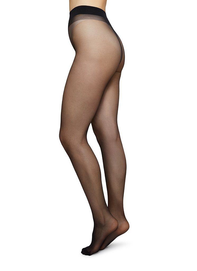 MARIA INNOVATION TIGHTS BLACK Tights Swedish Stockings XS