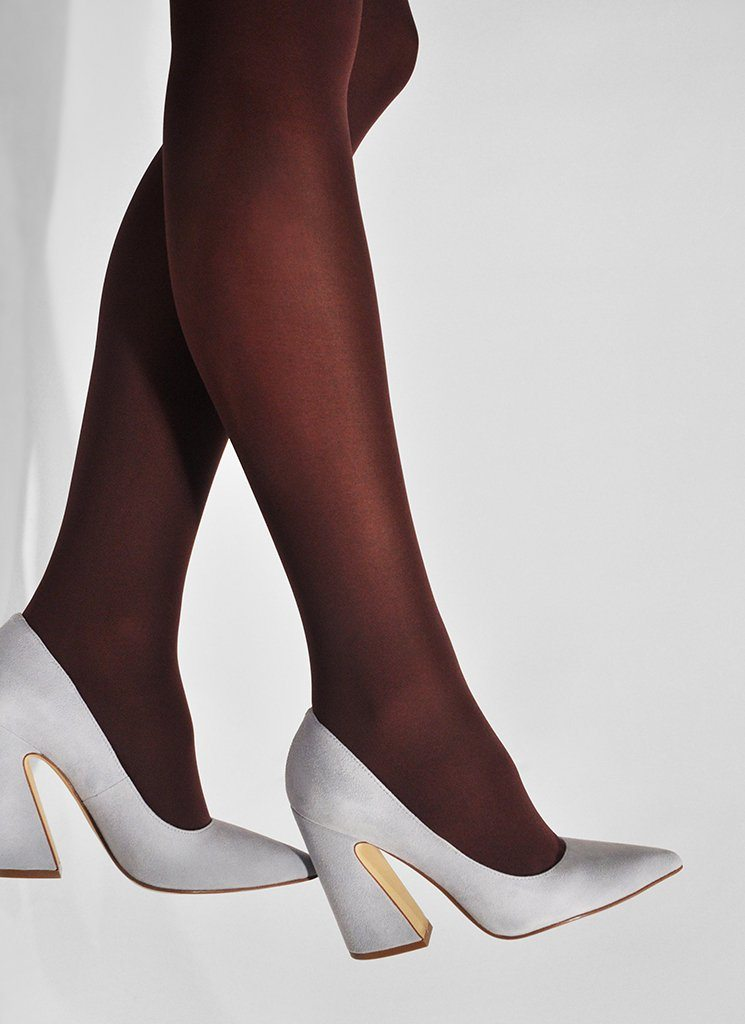 OLIVIA PREMIUM TIGHTS BORDEAUX Premium Stockings Swedish Stockings