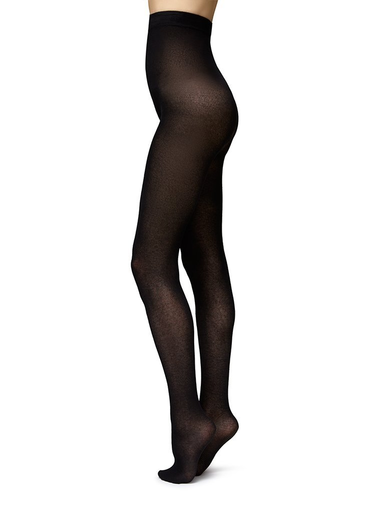 POLLY INNOVATION TIGHTS BLACK Tights Swedish Stockings
