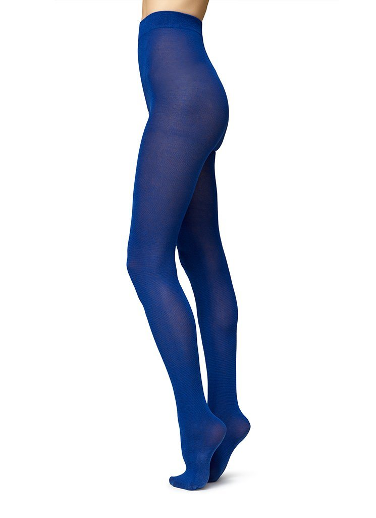 POLLY INNOVATION TIGHTS SEA BLUE Tights Swedish Stockings S