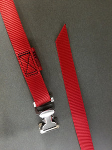 Stainless Steel Raft, Kayak & Canoe Tie Down Straps to Your Spec!