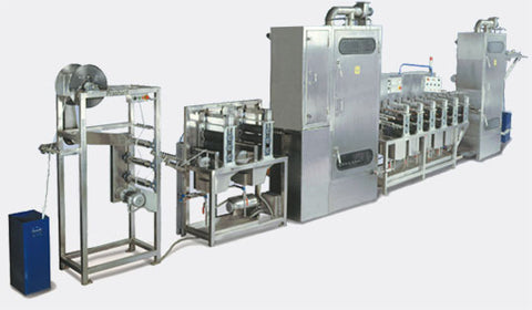 Continuous Dying Machine for Polyester, Nylon & Kevlar Webbing