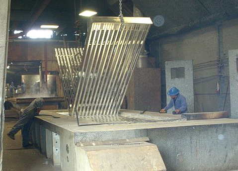 Hot Dipped Galvanized Process from Seattle Galvanizing